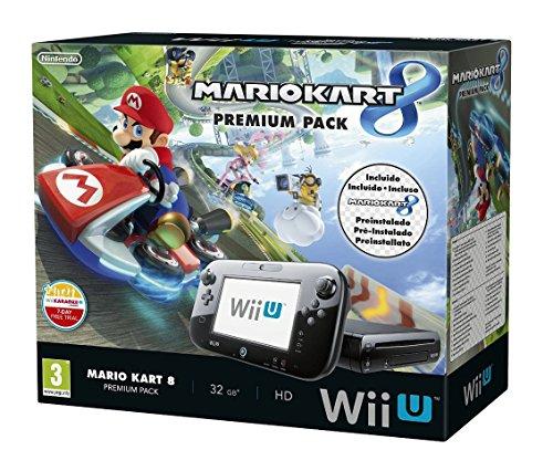 Nintendo Wii U - Premium Pack Mario Kart 8 Console (préinstallée)