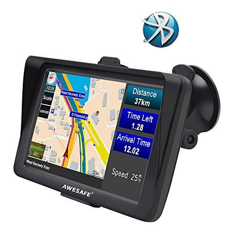 Écran GPS 7' Nüvi avec Bluetooth Sat Navigator pour voiture et camion avec mise à jour des cartes à vie