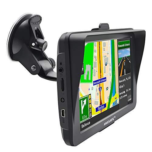 7 pouces HD écran tactile tactile de voiture GPS Nüvi Multimedia Player GPS Navigator avec carte de l'Europe
