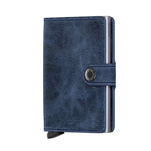 Portefeuilles Secrid mini portefeuille cartes de visite 6,5 cm cuir marron