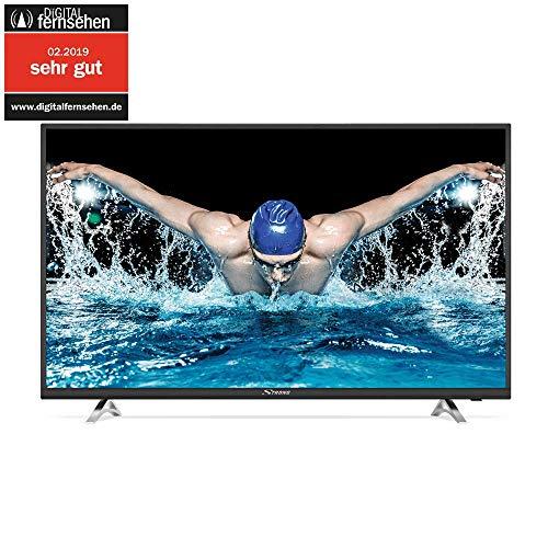 SRT 43UA6203 UHD Smart TV HDR - 4K LED TV 43 pouceses, 108 cm (Netflix, Youtube) Noir