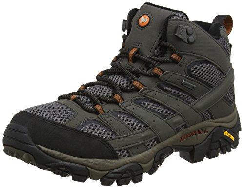 Merrell Moab 2 Mid GTX, Chaussures de randonnée pour hommes, Gris (Béluga), 41 EU