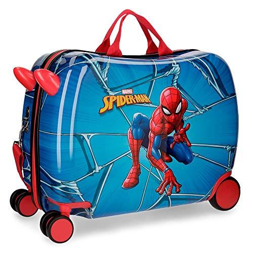 Marvel Spiderman Black Bagages pour enfants, 50 cm, 39 litres, Multicolore