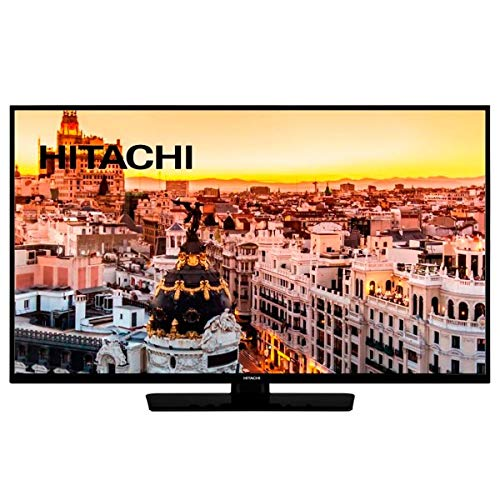 HITACHI 49HE4000 TELEVISOR 49'' LCD LED Full HD 600Hz Smart TV WiFi WiFi Bluetooth HDMI USB Recorder & Multimedia Player