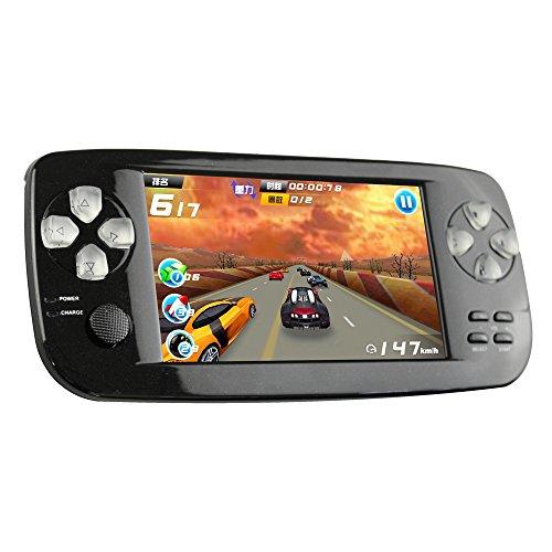 Console de jeu portable CXYP, 3000 Games Retro 4.3 pouces 16 Go Console de jeu vidéo portable avec caméra Nouvelle version (Noir)