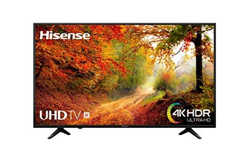 Hisense H65A6140 - TV Hisense 65' 4K Ultra HD, HDR, Couleur de précision, Super contraste, Télécommande maintenant, Smart TV VIDAA U, Design métallique, Mode Sports
