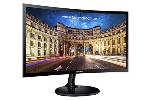 Samsung LC24F390FHU - Moniteur de PC de bureau 24''' (1920 x 1080 pixels, Full HD, HD 1080, 3000:1, contraste méga), couleur noir