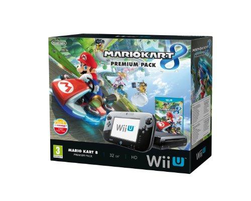 Nintendo Wii U - Premium Pack : Console + Mario Kart 8
