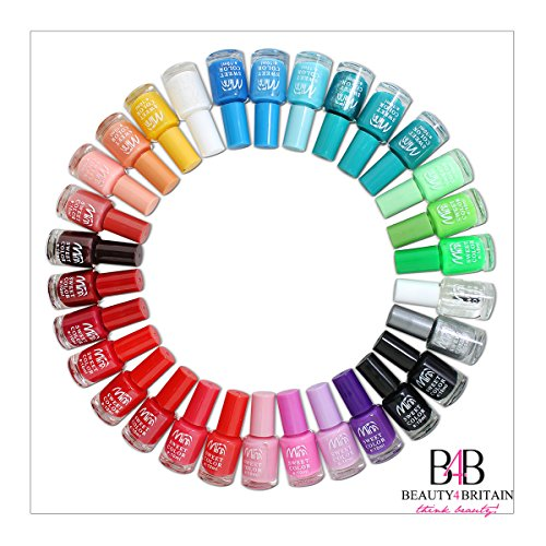 Lot de 24 vernis à ongles 22+ couleurs différentes Bouteille moderne de 7ML