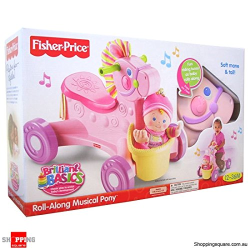 Fisher Price - Pink Pony Musical Walker