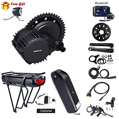 8Fun Bafang Bafang 1000 W Mid Drive Mountain Bike to Electric Bike Kit de conversion de vélo de montagne à vélo électrique BBSHD Medium Motor Road Bike Medium Unit Kit