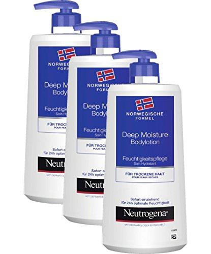 Neutrogena Crème Hydratante Hydratante pour le Corps /3 x 400 ml