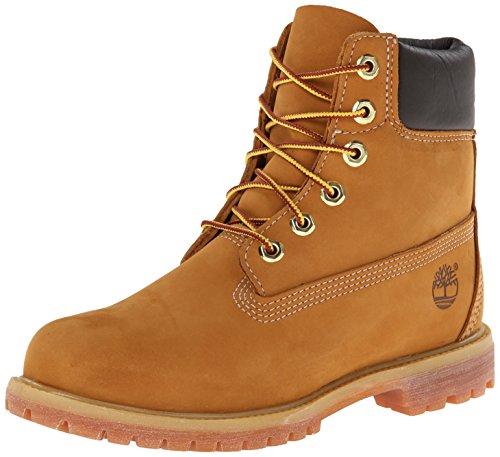 Timberland 6 en imperméable haut de gamme (coupe large), bottes pour femmes, jaune (nubuck de blé), 38 EU