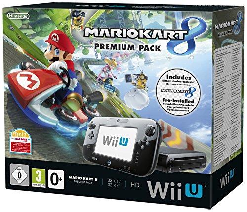 Nintendo Wii U 32GB Premium Pack avec Mario Kart 8 (anglais importé)