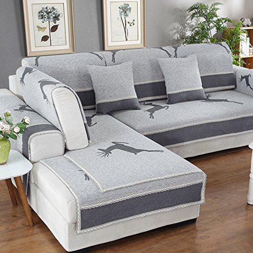 lilililili Sofa Pet Covers One Piece,Sofa Covers Animal Protection,Pet Covers for Dogs,Sofa Protector Sofa Towel Lance Covers - F 90x70cm (35x28inch)