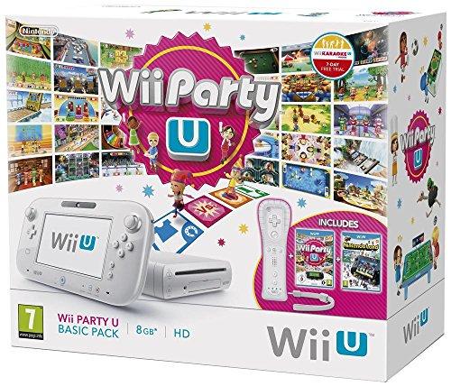 Console Nintendo Wii U 8 Go Blanche + Wii Party U (importation française)