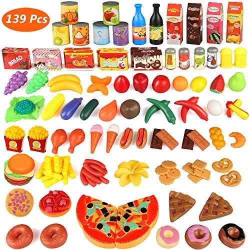 Estela - Play Kids Kitchen Set, 139 pièces Plastique (Ruinuode Direct)