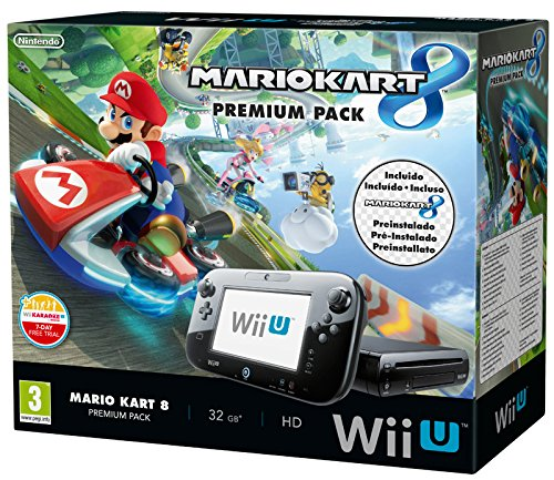 Nintendo Wii U + Mario Kart 8 Premium Pack avec Sw Pre-Installato (Pack) (Importation italienne)