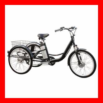 Las mejores bicicletas eléctricas de tres ruedas
