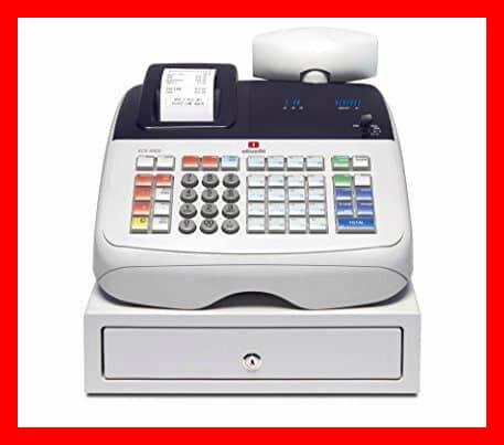 mejor caja registradora Olivetti Caja Registradora Ecr 6800