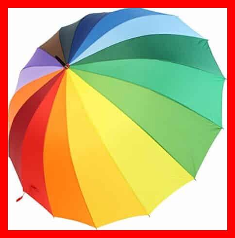 Los mejores paraguas de colores