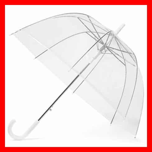 Los mejores paraguas transparentes
